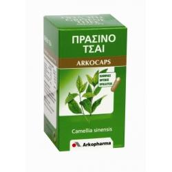 ARKOPHARMA ARKOCAPS ΠΡΑΣΙΝΟ ΤΣΑΙ 45 κάψουλες