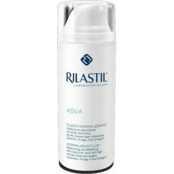 Rilastil Aqua Normalizing Fluid Κρεμογαλάκτωμα Προσώπου για μικτές επιδερμίδες με ατέλειες, 50ml