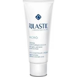 Rilastil Micro Eye Contour Cream 15ml - Κρέμα ματιών για πρώτες ρυτίδες και μαύρους κύκλους