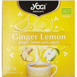 Yogi Tea Ginger Lemon 12 Φακελάκια