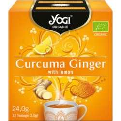 Yogi Tea Curcuma Ginger Lemon 12 Φακελάκια