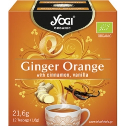 Yogi Tea Ginger Orange 12 Φακελάκια