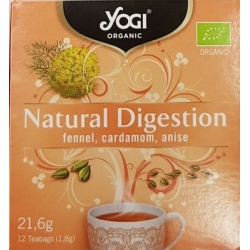Yogi Tea Natural Digestion 12 Φακελάκια
