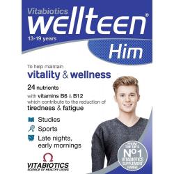 Vitabiotics Wellteen Him 30 ταμπλέτες