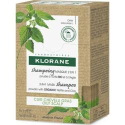 Klorane Ortie Σαμπουάν Mάσκα 2 σε 1 για Λιπαρά Μαλλιά με Τσουκνίδα, 8x3gr