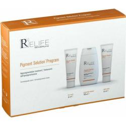 MENARINI ReLife Pigment Solution Program Θεραπεία της Υπέρχρωσης με 3 προϊόντα
