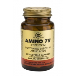 SOLGAR Amino 75 veg.caps 30s