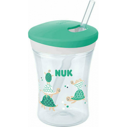 Nuk Action Cup Green Turtles 230ml 12m+