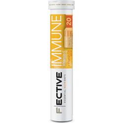 Fective Immune Vitamin C 1000mg + Vitamin D3 800IU 20 αναβράζοντα δισκία