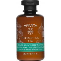 Apivita Refreshing Fig Αφρόλουτρο για Αίσθηση Φρεσκάδας 250ml