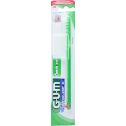 GUM 409 Classic Compact Soft Οδοντόβουρτσα πρασινο 1τμχ