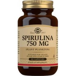Solgar Spirulina 750mg 80 κάψουλες