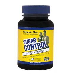 Nature's Plus Control Sugar 60 φυτικές κάψουλες