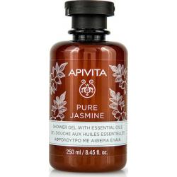 Apivita Pure Jasmine Aφρόλουτρο με Aιθέρια Έλαια 250ml