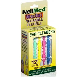 NeilMed WaxOut Ear Cleaners Εργαλεία Καθαρισμού Αυτιών 12τμχ