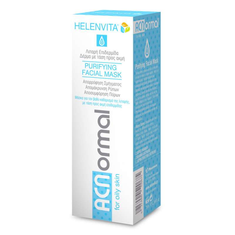 Helenvita ACNormal Purifying Facial Μask 75 ml .
