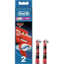 Oral-B Stages Cars Power Ανταλλακτικά για Ηλεκτρική Παιδική Οδοντόβουρτσα, 2 Τεμάχια