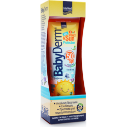 Intermed Γαλάκτωμα Babyderm Kids Insect & Sun Protection SPF 50 300ml