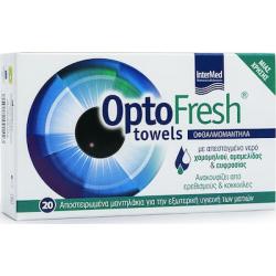 Intermed Optofresh Towels 20 Οφθαλμομάντηλα