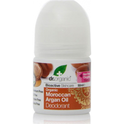 Dr.Organic Organic Deodorant Moroccan Argan Oil Roll-On 50ml