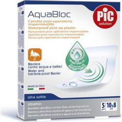 Pic Solution Solution AquaBloc Waterproof UltraThin Antibacterial 10x8cm 5τμχ