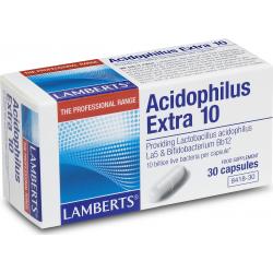 Lamberts Acidophilus Extra 10 30 κάψουλες