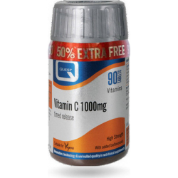 Quest Naturapharma Vitamin C Timed Release 1000mg (+50%) 90 ταμπλέτες