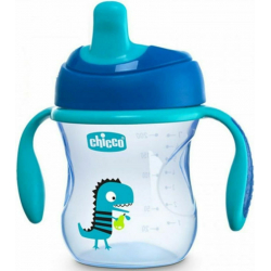 Chicco Training Cup Blue 6m+ 200ml