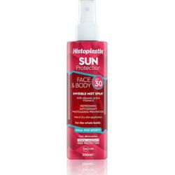 Heremco Histoplastin Sun Protection Face & Body Invisible Mist Spray SPF30 200ml
