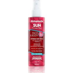 Heremco Histoplastin Sun Protection Face & Body Invisible Mist Spray SPF50 200ml