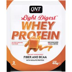 QNT Light Digest Whey Protein 40gr Salted Caramel