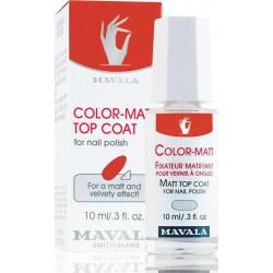 Mavala Switzerland Color Matt Top Coat 10ml