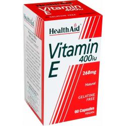 HealthAid Vitamin E 400iu 60 κάψουλες
