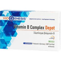 Viogenesis Vitamin B Complex Depot 60 κάψουλες