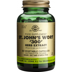Solgar SFP St. John's Wort Herb Extract 300mg 50 φυτικές κάψουλες