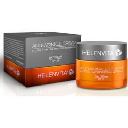 Helenvita Anti-Wrinkle Day Cream SPF25 Αντιρυτιδική Κρέμα Ημέρας για Κάθε Τύπο Επιδερμίδας 50ml