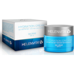 Helenvita Hydration Day Cream SPF15 Dry/Very Dry Skin 50ml Ενυδατική Αντηλιακή Κρέμα Ημέρας Για Ξηρή/Πολύ Ξηρή Επιδερμίδα