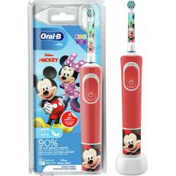 Oral-B Vitality Kids Mickey Παιδική Ηλεκτρική Οδοντόβουρτσα 3+ ετών