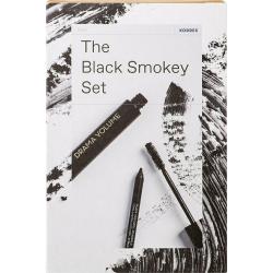 Korres The Black Smokey Set Drama Volume Mascara No 01 11ml & Long Lasting Eyeliner No 01 12g
