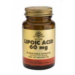 Solgar Alpha Lipoic Acid 60mg  30 κάψουλες