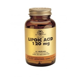 Solgar Alpha Lipoic Acid 120mg 60 κάψουλες