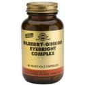 Solgar Bilberry Ginkgo Eyebright Complex 60s