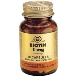 Solgar Biotin 1000mg 50 κάψουλες