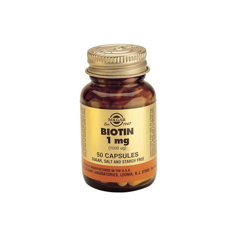 Solgar Biotin 1mg 50s
