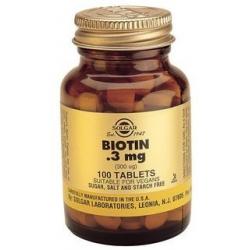 Solgar Biotin 300 μg 100 κάψουλες