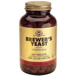 Solgar Brewers Yeast 500mg  250 ταμπλέτες
