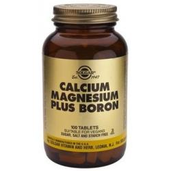 Solgar Calcium Magnesium Plus Boron 100s