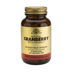 Solgar Cranberry Extract with Vitamin C 60 κάψουλες