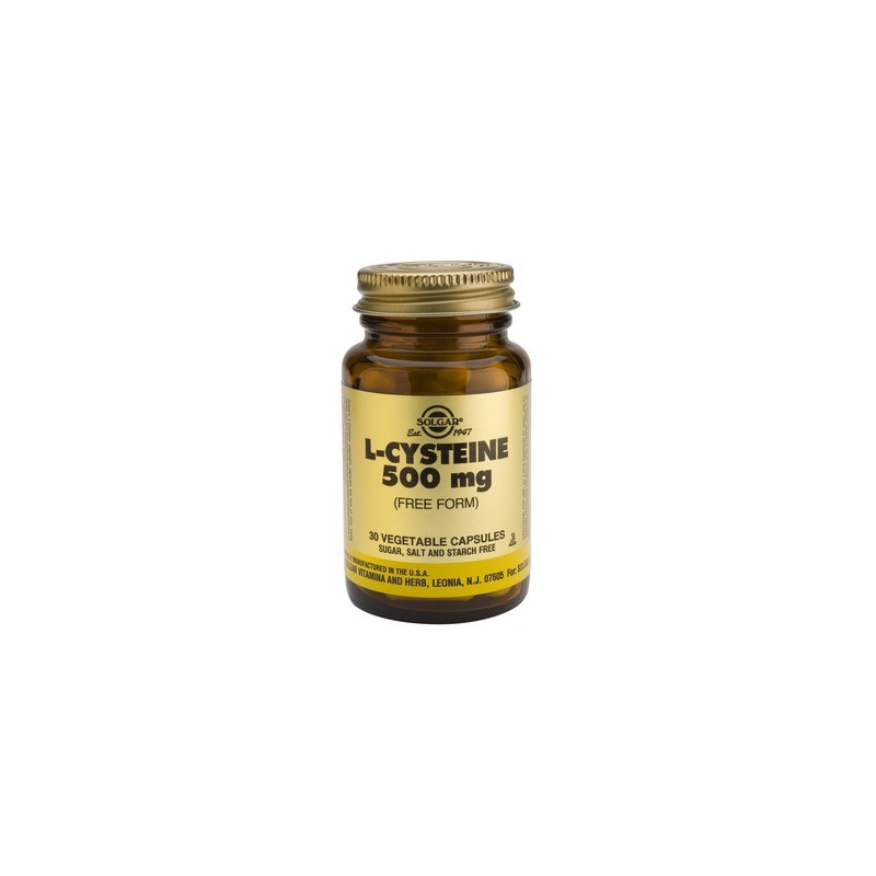 Solgar L-Cysteine 500mg 30 κάψουλες