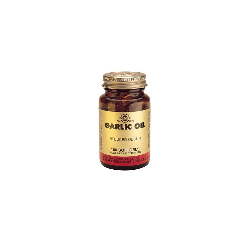 Solgar Garlic Oil 100 κάψουλες